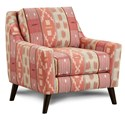 Fusion Furniture 290 Upholstered Chair - Item Number: 290Baule Spice