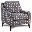 Fusion Furniture 290 Upholstered Chair - Item Number: 290Bindi Crayola