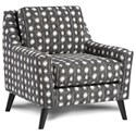 Fusion Furniture 290 Upholstered Chair - Item Number: 290Bindi Pepper