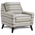 Fusion Furniture 290 Upholstered Chair - Item Number: 290Chickasaw Silver