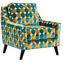 Powell's V.I.P. 290 Upholstered Chair - Item Number: 290Hotspot Peacock