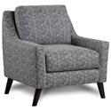 FN 290 Upholstered Chair - Item Number: 290Mix Up Denim
