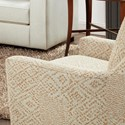 Fusion Furniture 290 Upholstered Chair - Item Number: 290Roughewin Squash