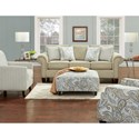 FN 3100 Stationary Living Room Group - Item Number: 3100 Living Room Group 3