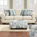 VFM Signature 3100 Sofa - Item Number: 3100Keynote Linen