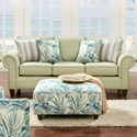 VFM Signature 3100 Sofa - Item Number: 3100Vibrant Pear