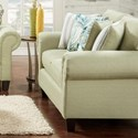 VFM Signature 3100 Loveseat - Item Number: 3101Vibrant Pear