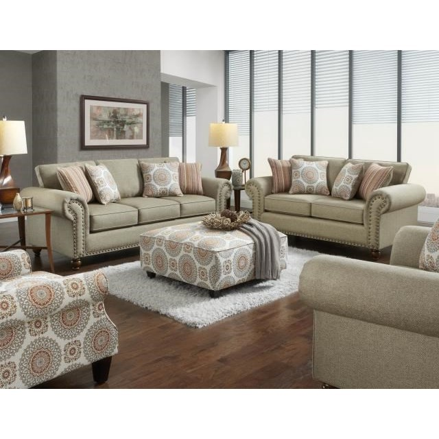 3110 Stationary Living Room Group by Fusion Furniture at Wilcox Furniture