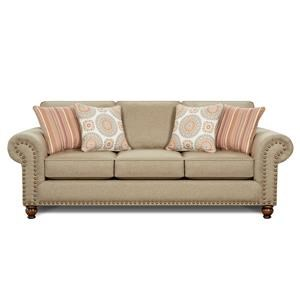 Fusion Furniture 3110 Turino Sisal Sofa