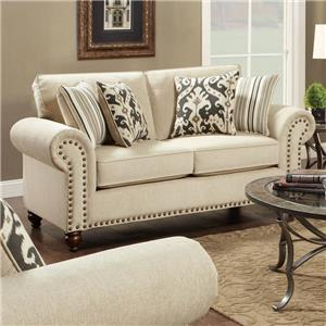 Fusion Furniture Fairleigh Loveseat