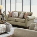 VFM Signature 3110 Loveseat - Item Number: 3111Turino Sisal