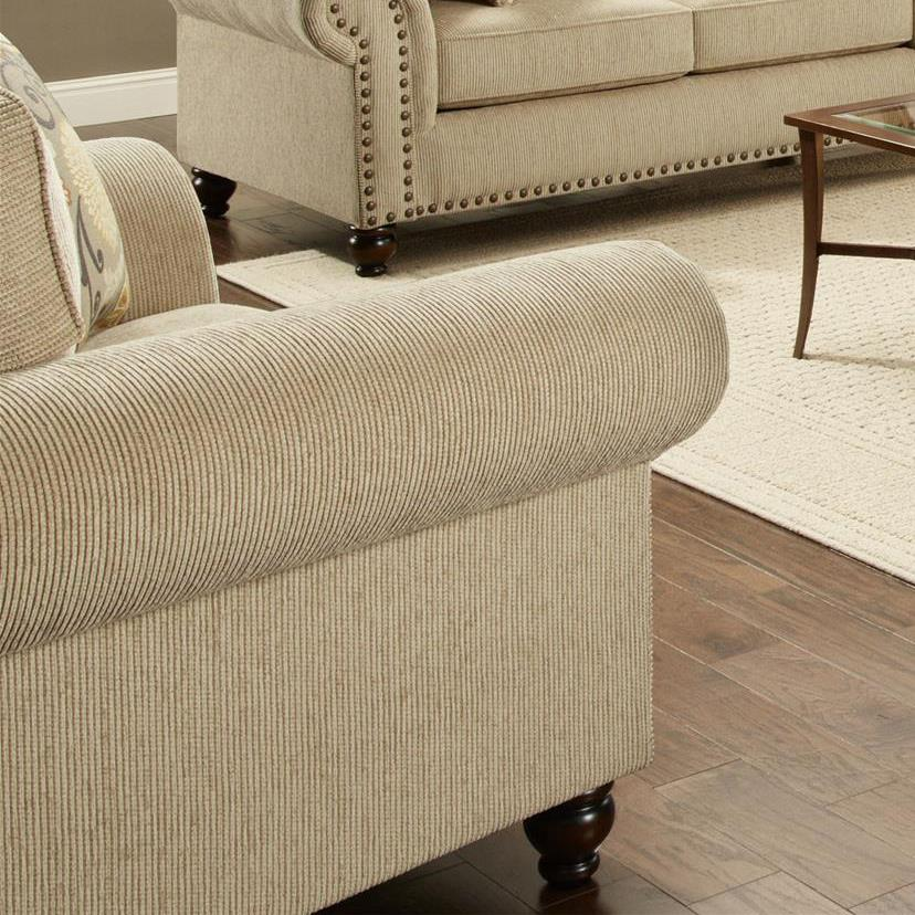 Haley Jordan Ariel Chair and a Half - Item Number: 3112Out West Linen