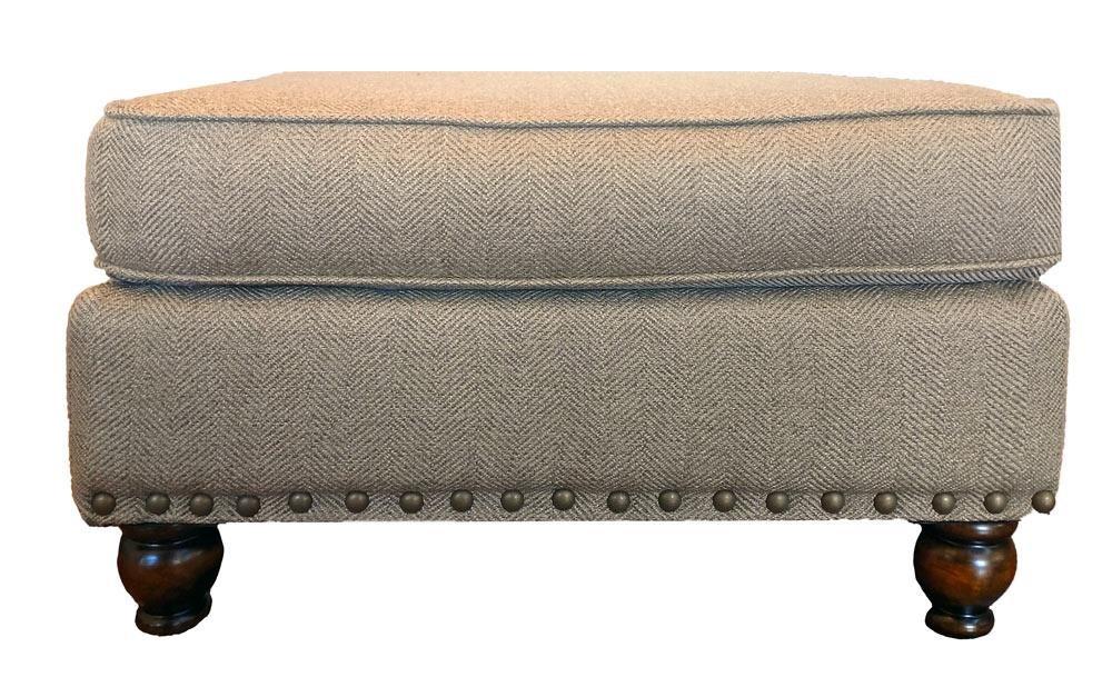 Fusion Furniture Turino Sisal Turino Sisal Ottoman - Item Number: 3113 TURINO-SISAL