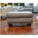 Fusion Furniture Turino Sisal Ottoman - Item Number: 3113ROMERO-STERLING