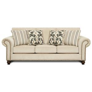 Fusion Furniture 3110 Queen Sleeper Sofa