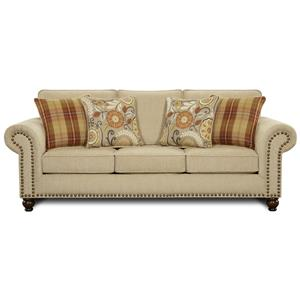 Fusion Furniture 3110 Queen Sleeper Sofa