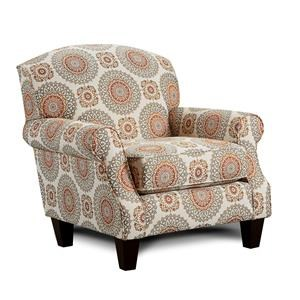 Brianne Marmalade Accent Chair
