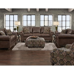 Fusion Furniture 3120 Stationary Living Room Group