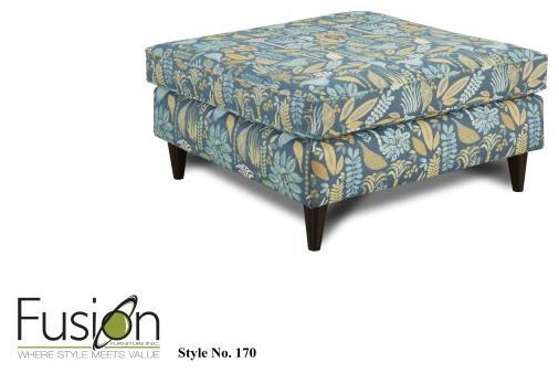 Fusion Furniture 3200 Cocktail Ottoman - Item Number: 170