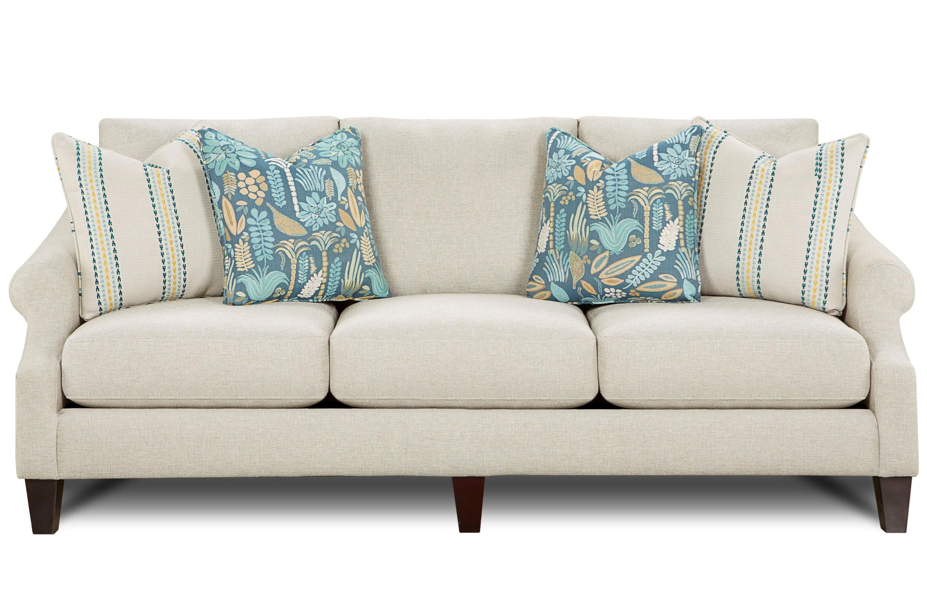 Fusion Furniture 3200 Sofa - Item Number: 3200Drusky Reed