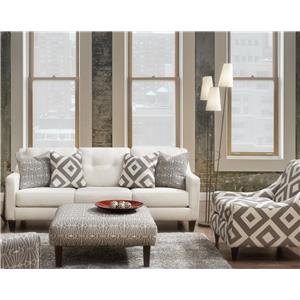 Fusion Furniture Emblem Stationary Living Room Group