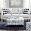 Fusion Furniture 3280 Sofa - Item Number: 3280BTampa Ice