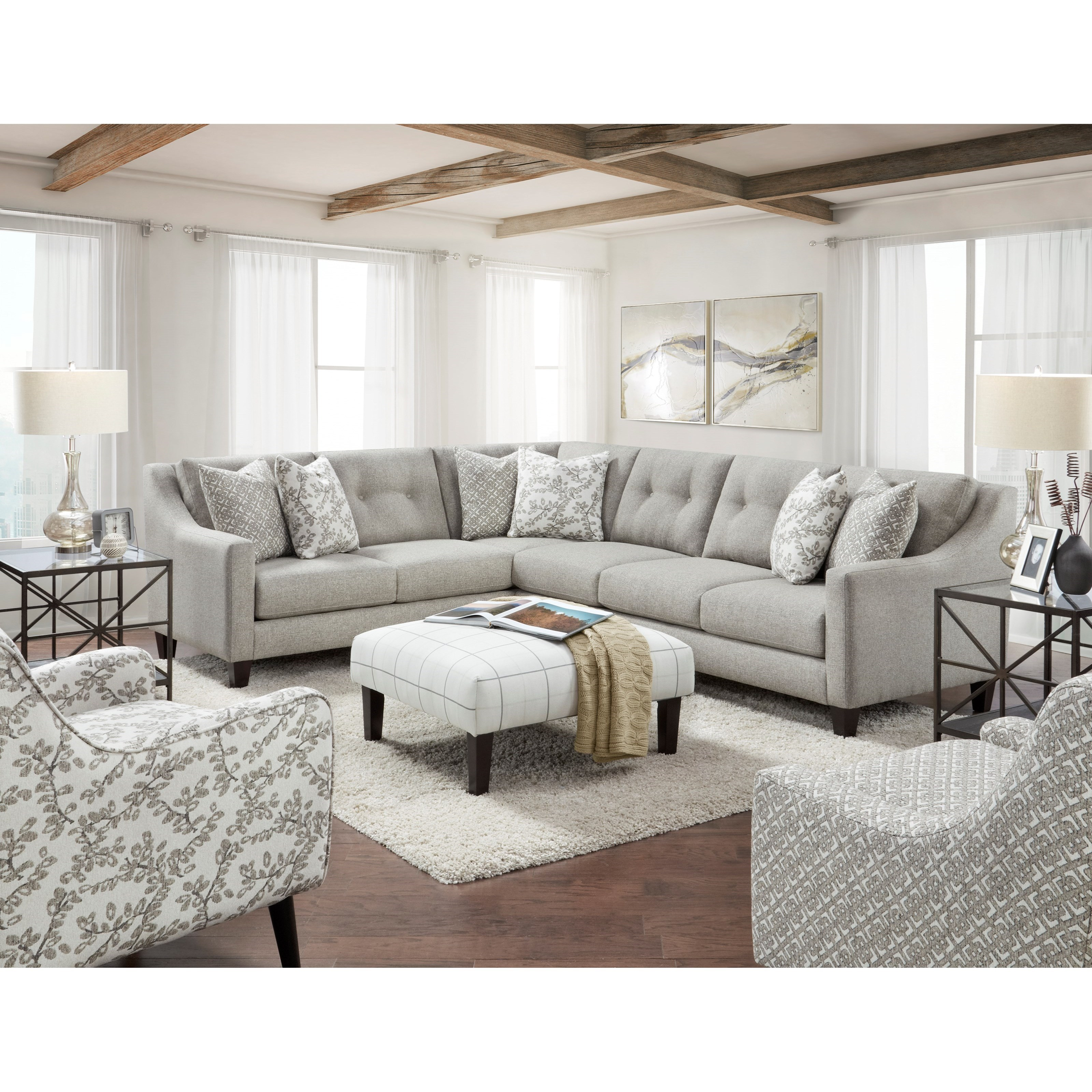 3280 Living Room Group by Fusion Furniture at Story & Lee Furniture
