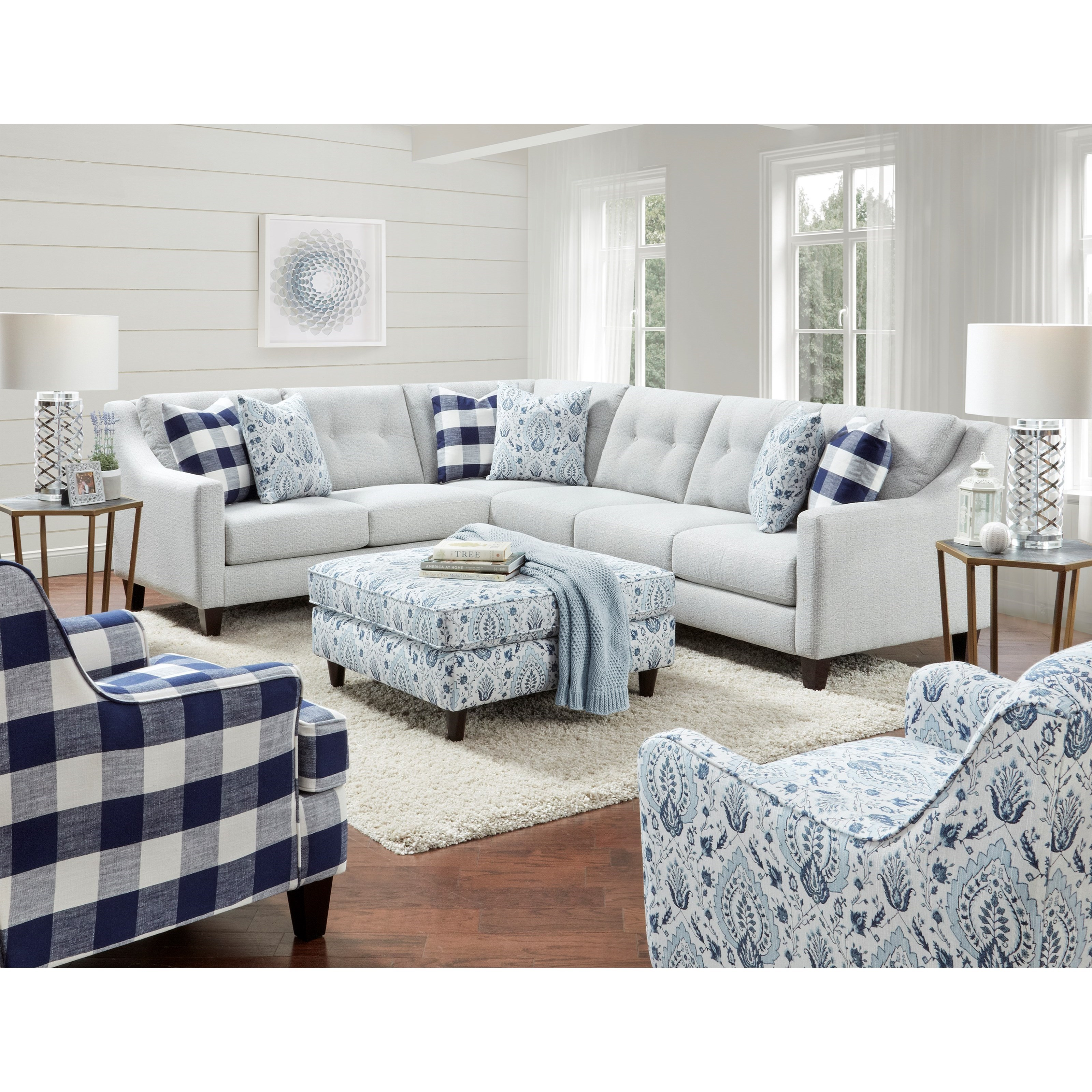3280 Living Room Group by Fusion Furniture at Hudson's Furniture