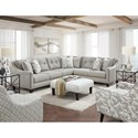 Fusion Furniture 3280 Living Room Group - Item Number: 52 Living Room Group 4