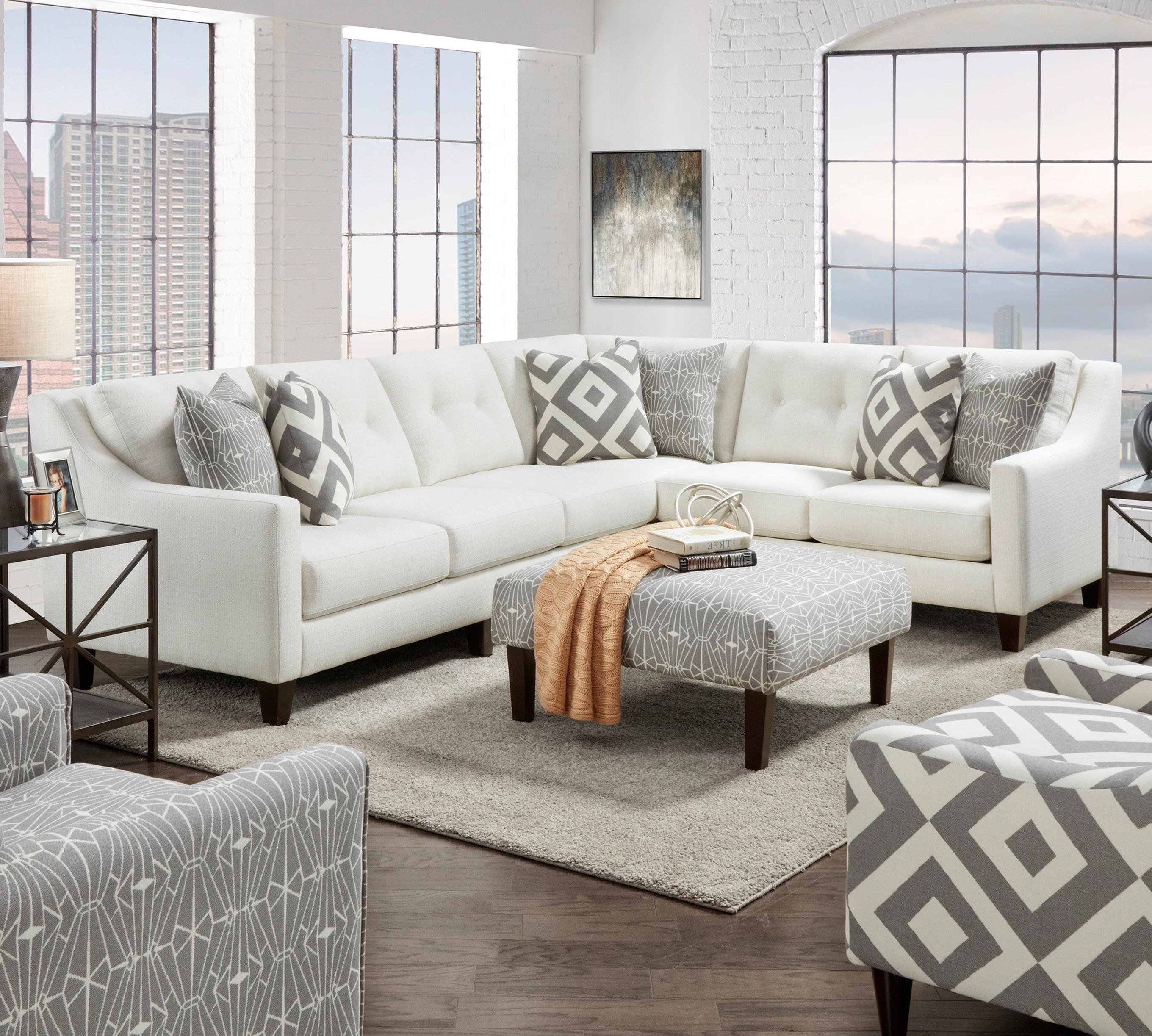 3280 2-Piece Sectional by Fusion Furniture at Furniture Superstore - Rochester, MN