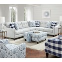 Fusion Furniture 3280 2-Piece Sectional - Item Number: 52B-31LTampa Ice+33R