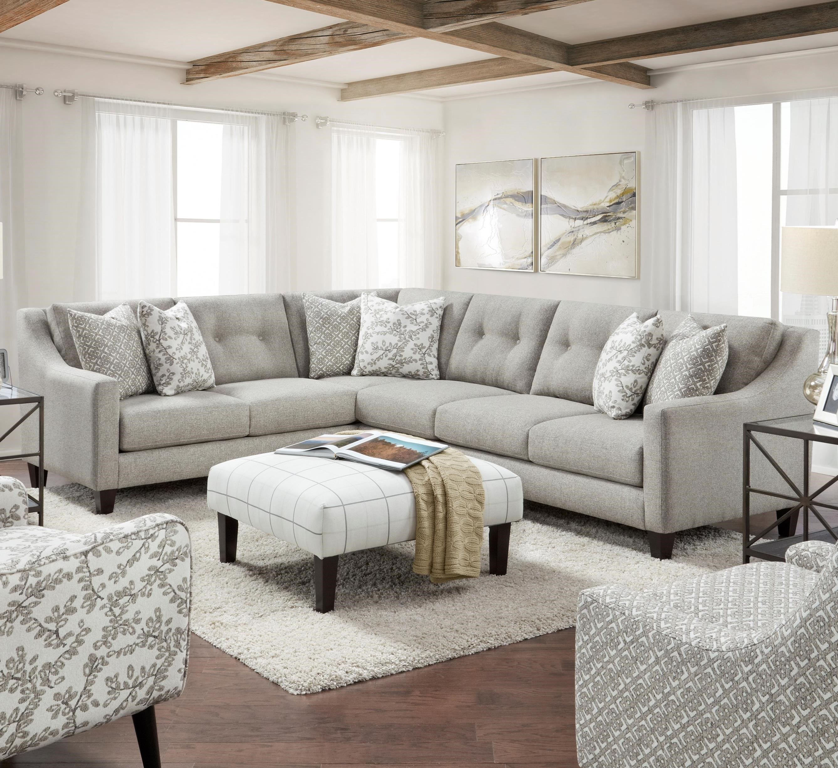3280 2-Piece Sectional by Powell's V.I.P. at Powell's Furniture and Mattress