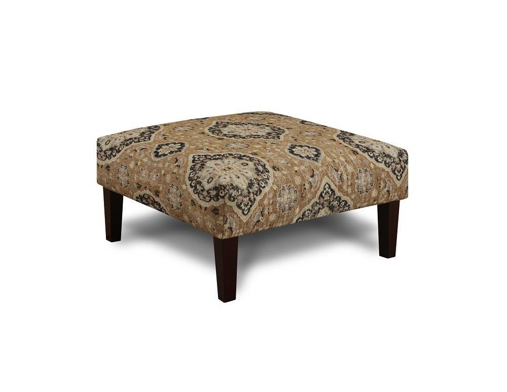 Fusion Furniture 3280B Renaissance Antique Cocktail Ottoman - Item Number: FUSI-159 RENAISSANCE-ANTIQUE