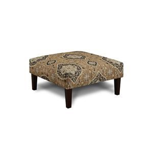 Fusion Furniture 3280B Renaissance Antique Cocktail Ottoman