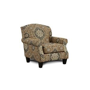 Fusion Furniture 3280B Renaissance Antique Accent Chair