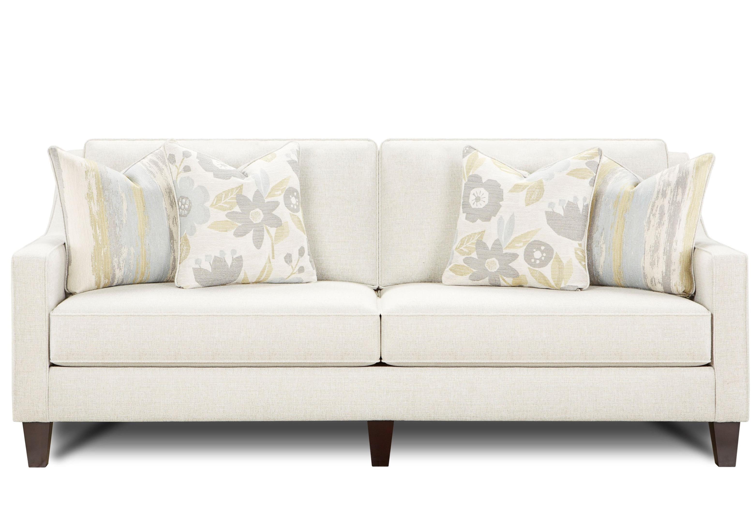 Fusion Furniture 3310 Sofa - Item Number: 3310Gallop Quarry