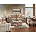 VFM Signature 3350 Stationary Living Room Group - Item Number: 3350 Living Room Group 1