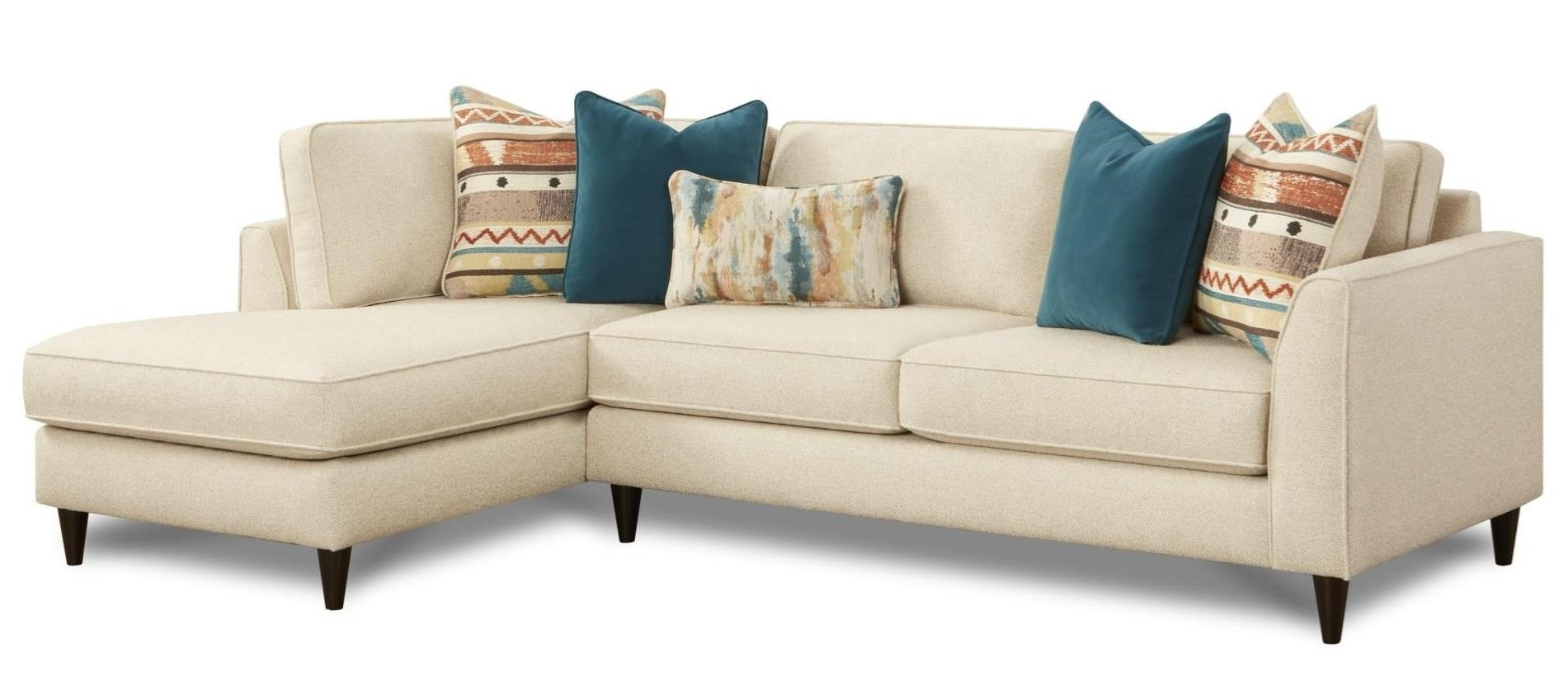 2 Pc Sofa w/ LAF Chaise