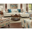 Fusion Furniture 34-31 Living Room Group - Item Number: 34-31 Living Room Group 2