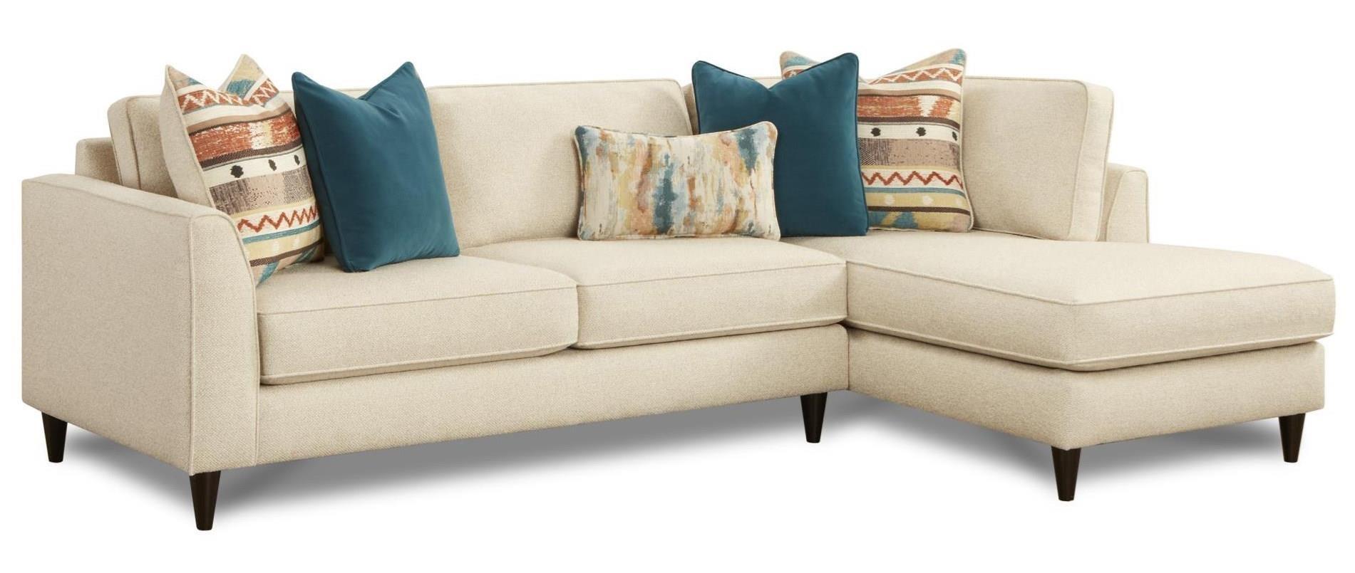 2 Pc Sofa w/ RAF Chaise