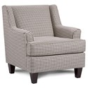 Fusion Furniture 340 Upholstered Chair - Item Number: 340Hayride Granite
