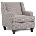 Fusion Furniture 340 Upholstered Chair - Item Number: 340Hayride Granite