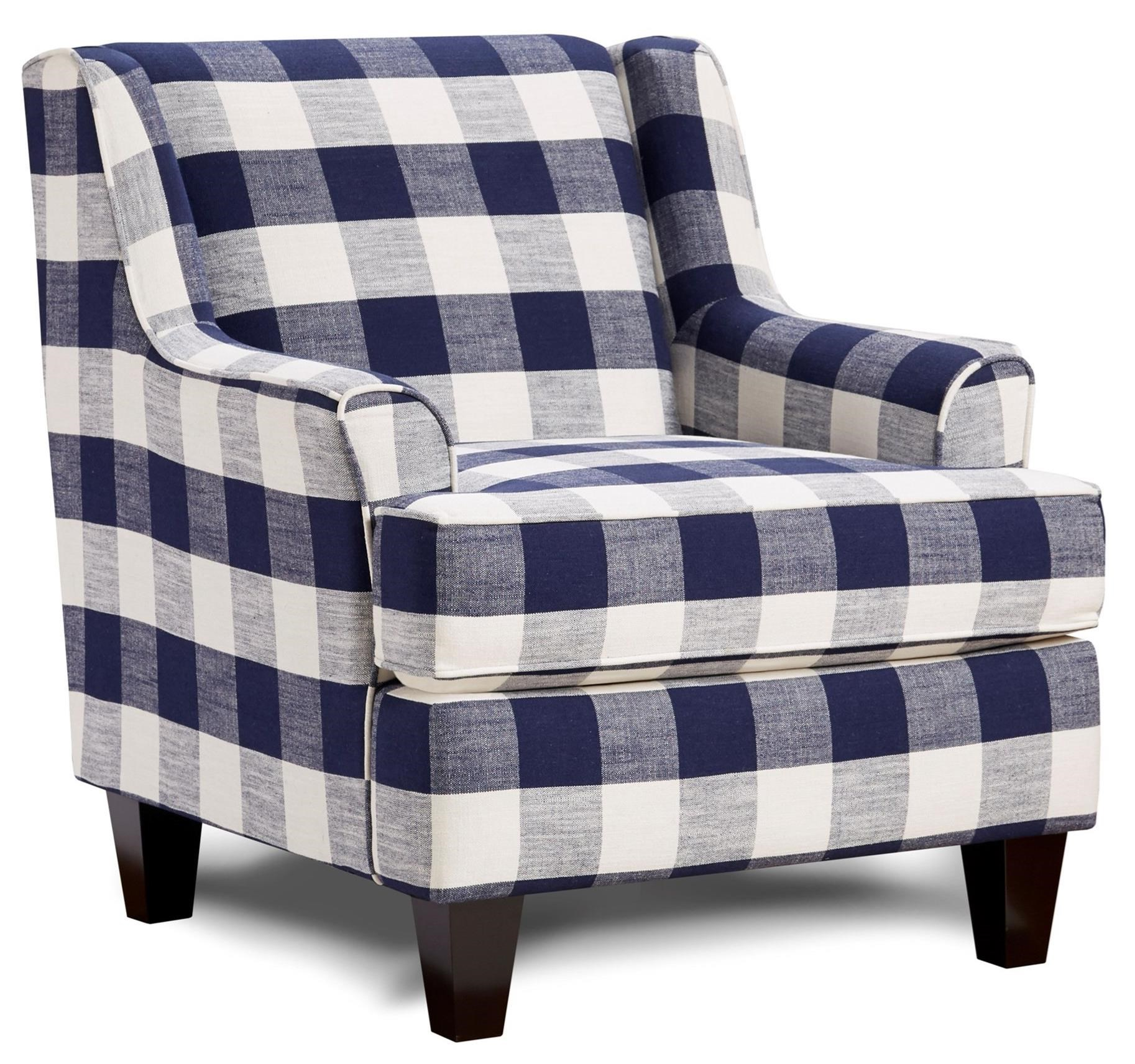 340 Upholstered Chair by Fusion Furniture at Hudson's Furniture