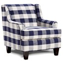 Fusion Furniture 340 Upholstered Chair - Item Number: 340Manchester Midnight