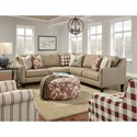 Fusion Furniture 340 Upholstered Accent Chair