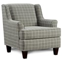 FN 340 Upholstered Chair - Item Number: 340Sterlington Smoke