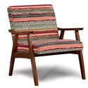 Fusion Furniture 350 Wood Frame Chair - Item Number: 350Seville Cancun