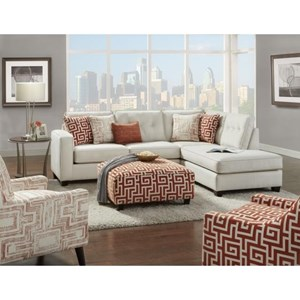 Fusion Furniture 3515 Modern Living Room Group