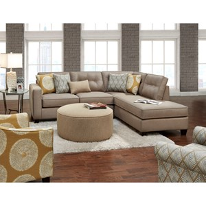 Fusion Furniture 3515 Stationary Living Room Group