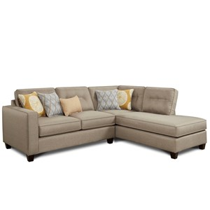Fusion Furniture 3515 Sectional